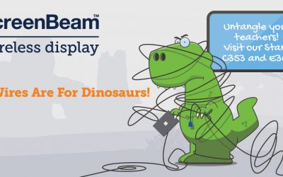 Visit Actiontec ScreenBeam at BETT 2019!