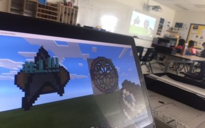 A Teacher Pairs ScreenBeam with Minecraft to Create Classroom Agility