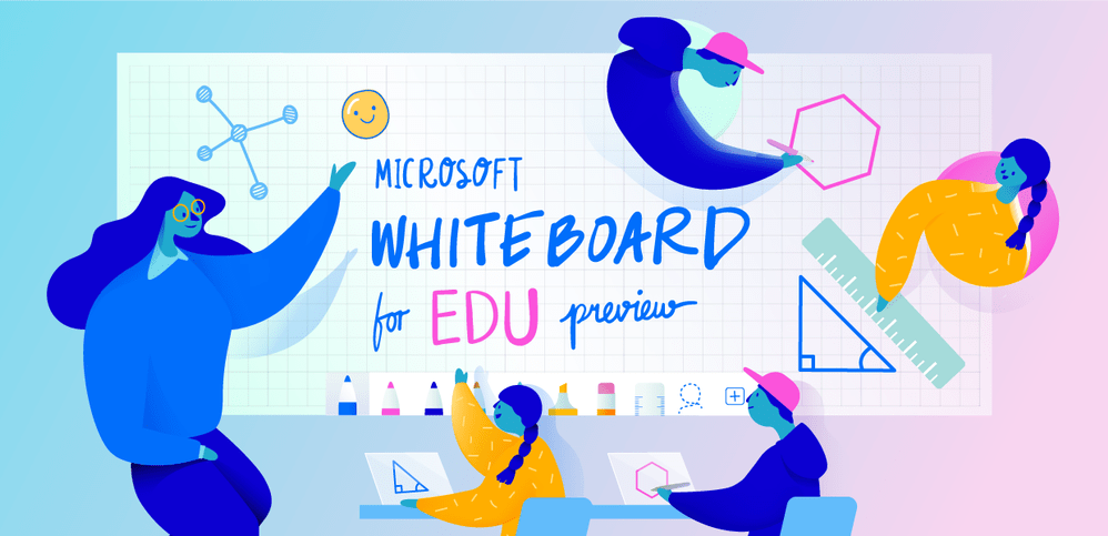 Increase Student Engagement with Microsoft Whiteboard for Education and Wireless Display Technology