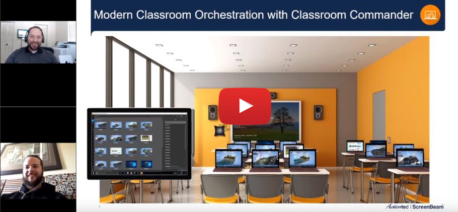 ScreenBeam Classroom Commander