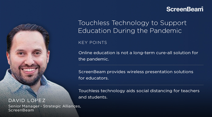 Collaborative Tech Talk: Touchless Technology to Support Education During the Pandemic