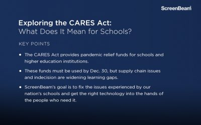 Exploring the CARES Act: What Does It Mean for Schools?