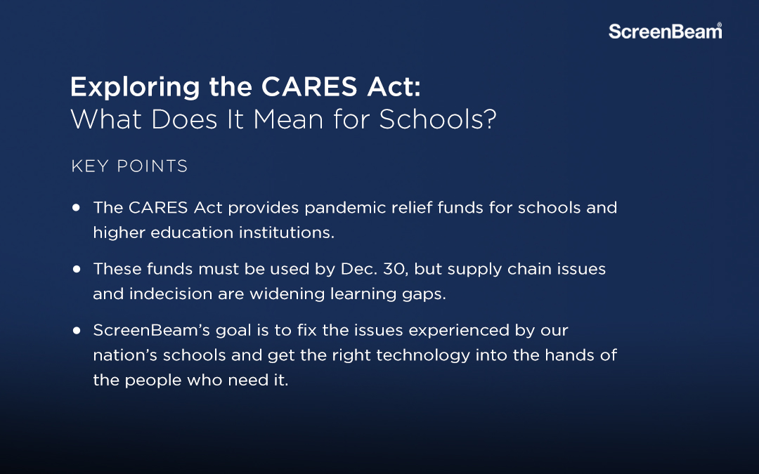 CARES Act School Collaboration