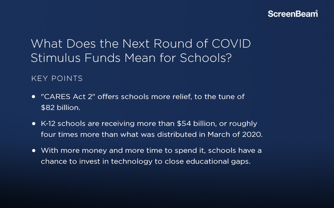 COVID Stimulus Funds for Schools